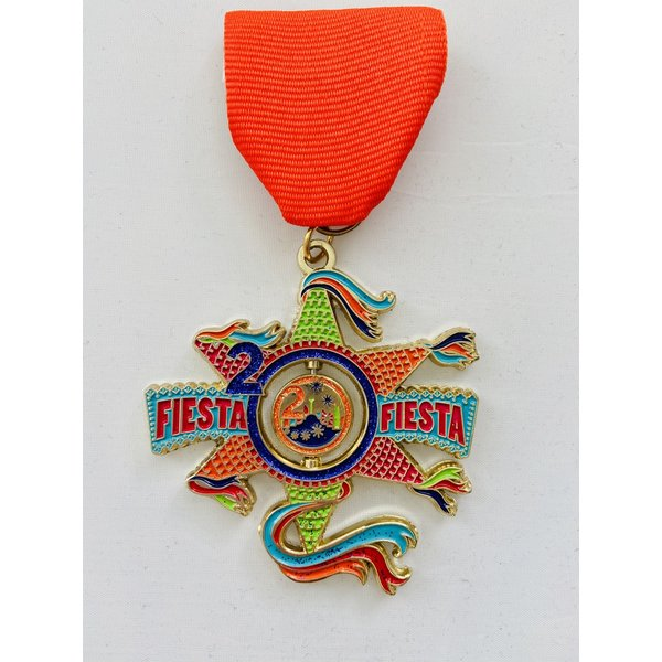 2020 Official Fiesta-Fiesta Medal