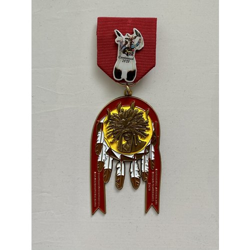 United San Antonio Pow-Wow 2021 Medal