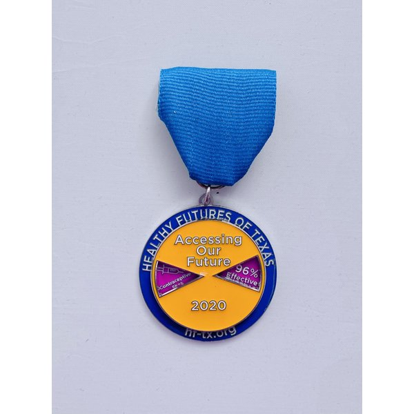 Healthy Futures of Texas 2021 Medal