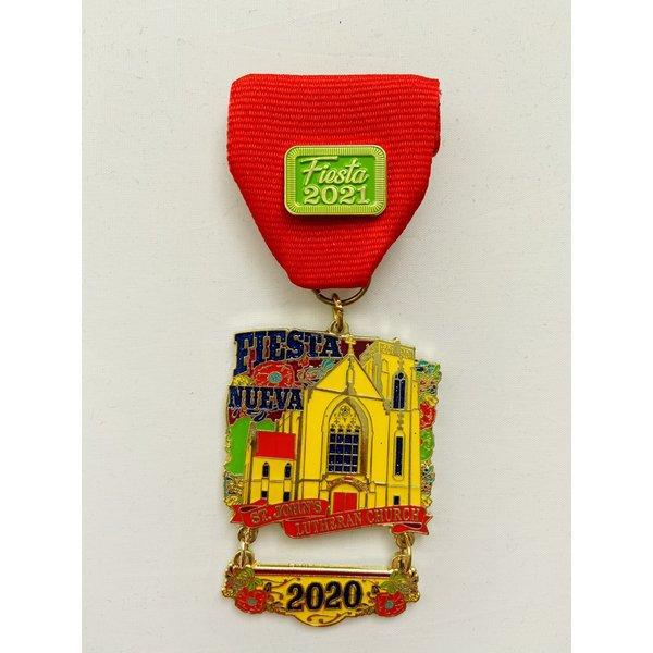 St. Johns Lutheran Church Fiesta Nueva-2021 Medal