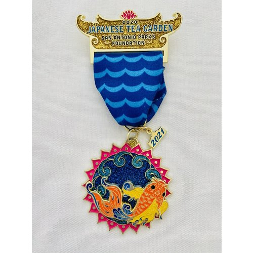 San Antonio Parks Foundation 2021 Medal