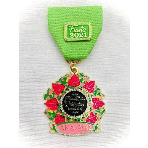 #69 AKA's Praise Dance Celebration Medal- 2020
