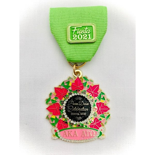 #69 AKA's Praise Dance Celebration Medal- 2020