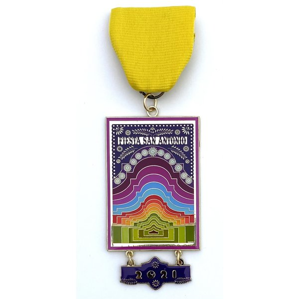 2021 Official Poster Medal