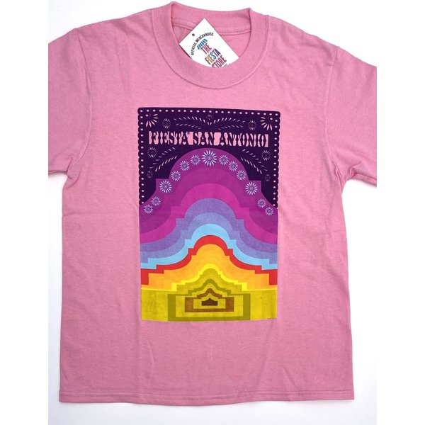 2021 Official Poster Tee Candy Pink - Youth Medium