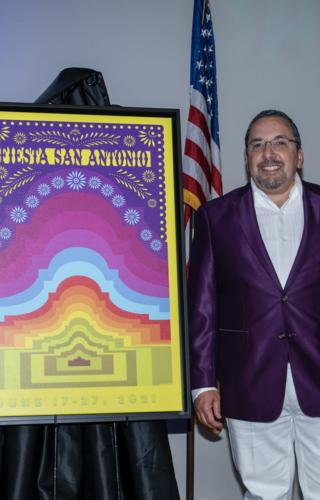 "2021 Poster ""El Alamo III""  by Andy Benavides"