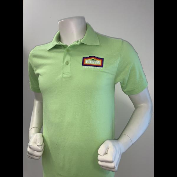 2021 Official Poster Polo Men's Lime - Medium