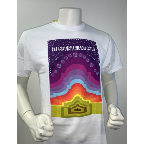 2021 Official Poster Tee White - Large