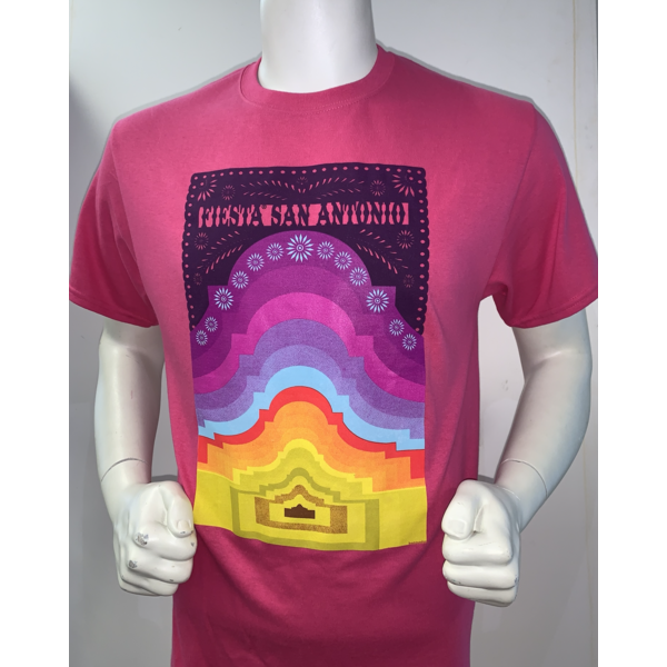2021 Official Poster Tee Sangria - Large