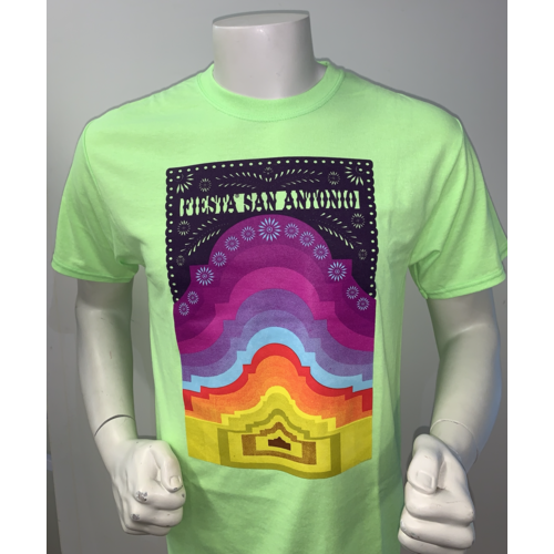 2021 Official Poster Tee Neon Green - Small