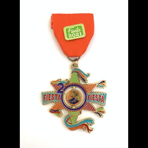 2020 / 2021 Official Fiesta-Fiesta Medal