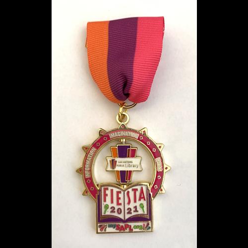 San Antonio Public Library 2021 Medal