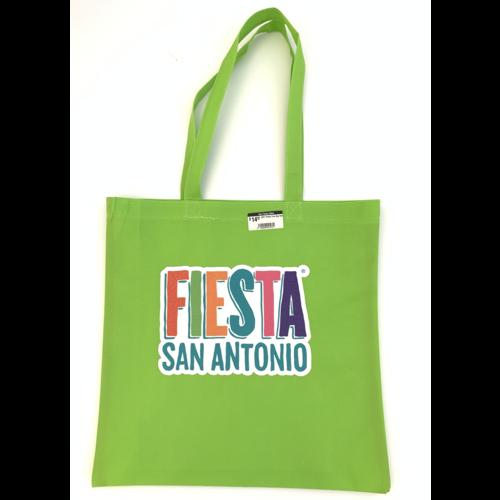 2021 Fiesta Tote Bag Lime w/ Glitter