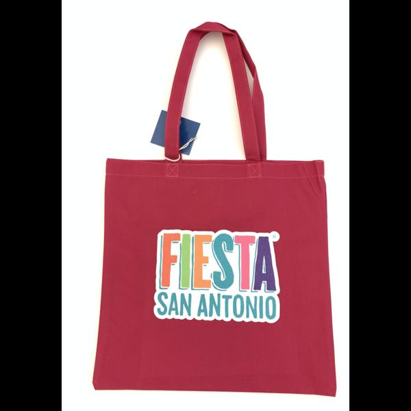 2021 Fiesta Tote Bag Red w/ Glitter