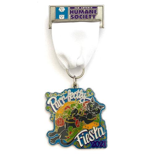 San Antonio Humane Society - Cat Medal 2021