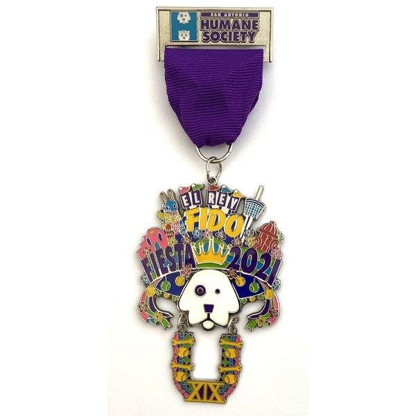 San Antonio Humane Society - Dog Medal 2021