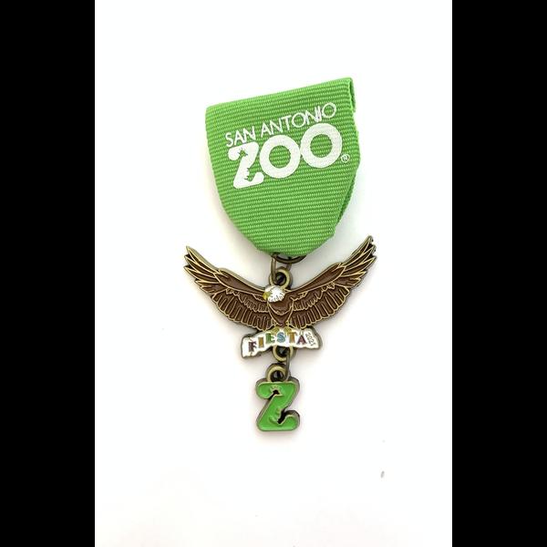 San Antonio Zoo 2021 Medal