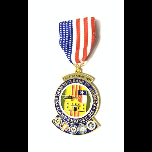 Vietnam Veterans Alamo Chapter 366 Medal- 2021