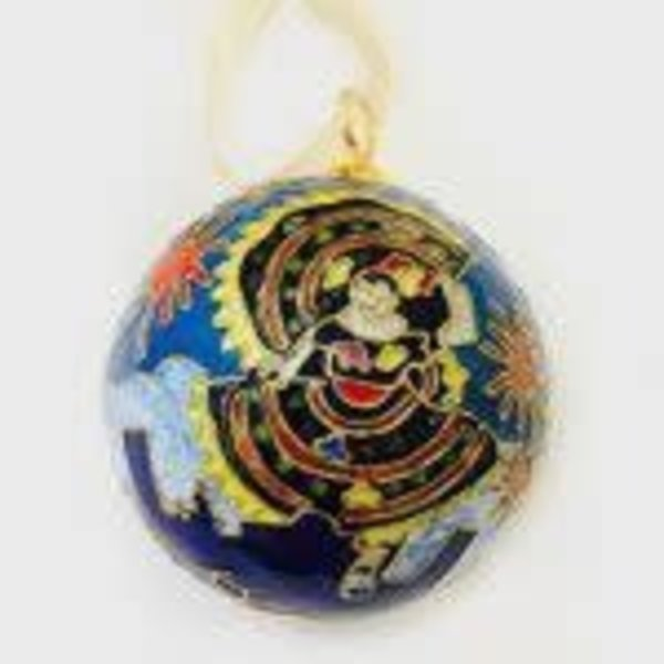 2017 Official Poster Cloisome Ornament Handcrafted 24 K Gold Plated