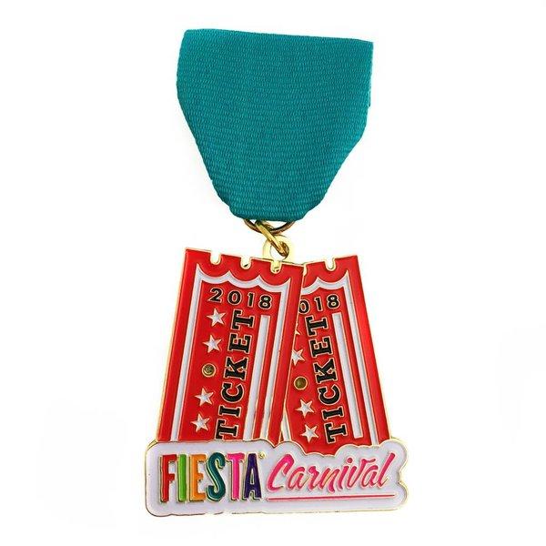 Fiesta Carnival 2018 Medal