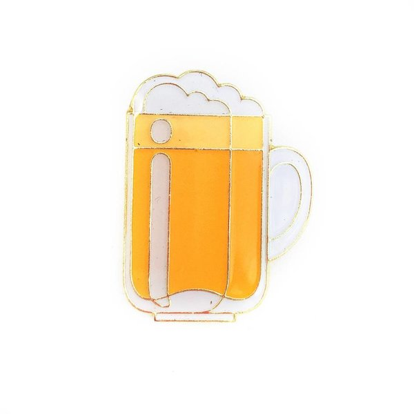 Beer Mug Lapel Pin