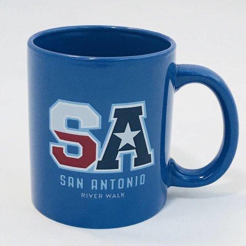 SA Blue Mug