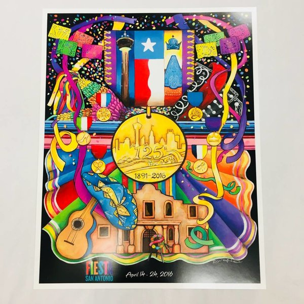 2016 SIGNED & NUMBERED poster