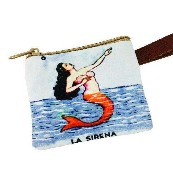 Loteria Coin Purse- La Sirena