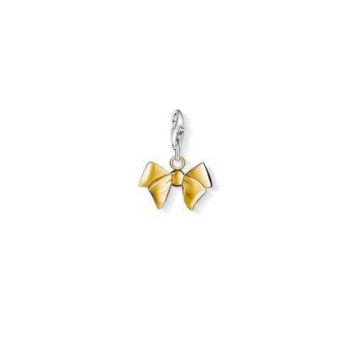 Thomas Sabo Yellow Gold Bow Charm