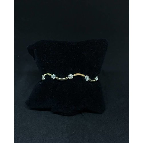Amour 14k Yellow Gold 0.70ct  Bracelet