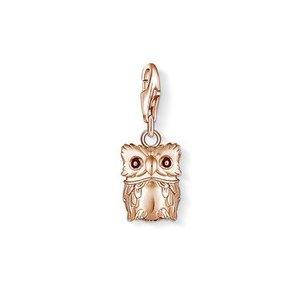 Thomas Sabo Rose Gold Owl Charm