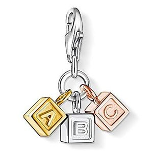 "Thomas Sabo ""ABC"" Blocks Charm"