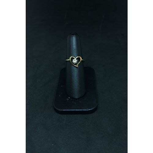 Amour 14k Yellow Gold 0.21ct Fashion Ring