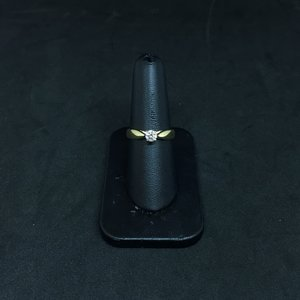 Amour 14k Yellow & White Gold 0.35ct Engagement Ring