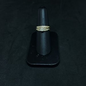 Amour 14k Yellow Gold 0.50ct Wedding Set