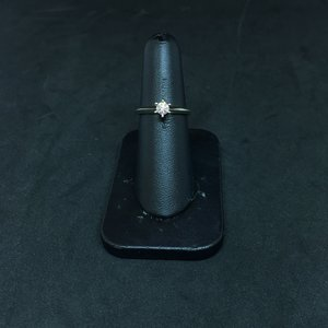 Amour 14k White Gold 0.25ct Engagement Ring
