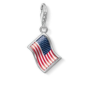 Thomas Sabo Flag USA Charm