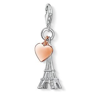 Thomas Sabo Eiffel Tower Rose Gold Heart Charm