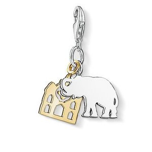 Thomas Sabo Elephant Travel Charm