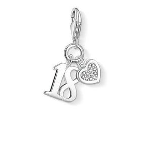 Thomas Sabo Lucky #18 Diamond Heart Charm