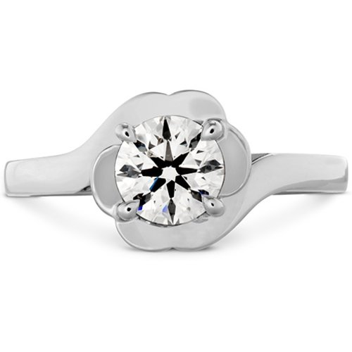 Hearts On Fire Lorelei Bloom Solitaire Engagement Ring