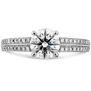 Hearts On Fire Lorelei Double Row Engagement ring