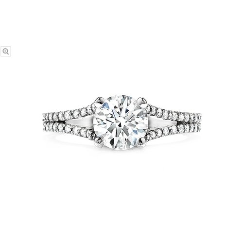 Hearts On Fire Felicity Split Shank Engagement Ring