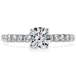 Hearts On Fire Enrichment Engagement Ring