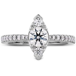 Hearts On Fire Destiny Regal Engagement Ring