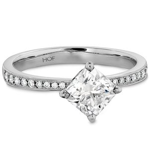 Hearts On Fire Dream Offset Engagement Ring