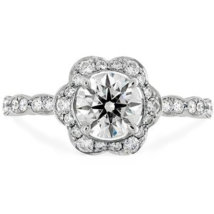 Hearts On Fire Lorelei Floral Engagement Ring