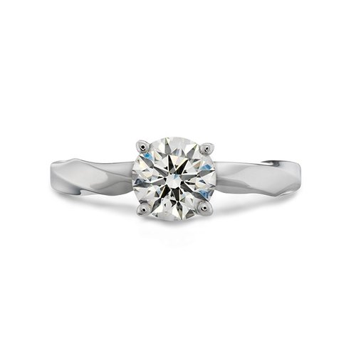 Hearts On Fire Atlantico Solitaire Engagement Ring