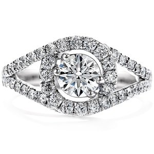 Hearts On Fire Endeavor Engagement Ring