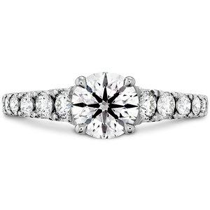 Hearts On Fire Transcend Premier Diamond Engagement Ring